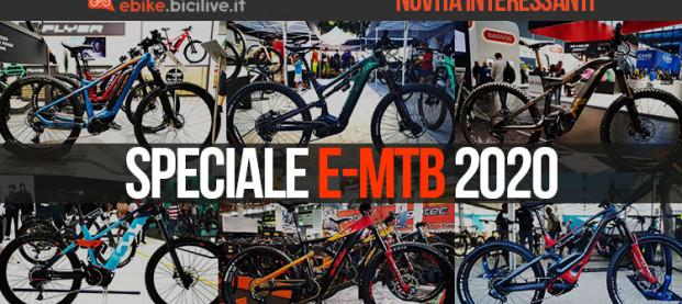 Speciale: le nuove mountain bike elettriche del 2020