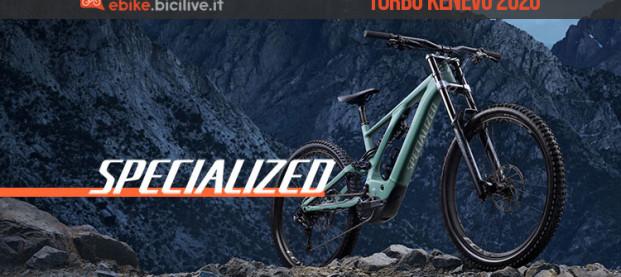 La nuova Specialized Turbo Kenevo 2020: diversa e più aggressiva che mai