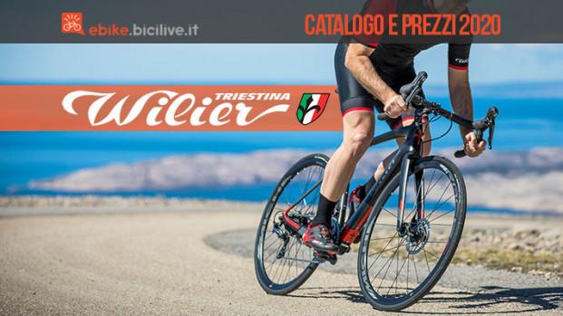 Le bici elettriche 2020 di Wilier Triestina: catalogo e listino prezzi