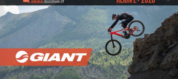 Giant Reign E+: il divertimento oltre misura diventa elettrico