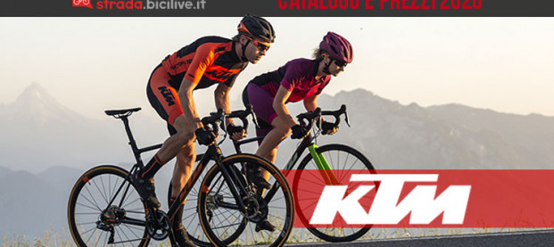 KTM: il catalogo e il listino prezzi delle bici strada e gravel 2020