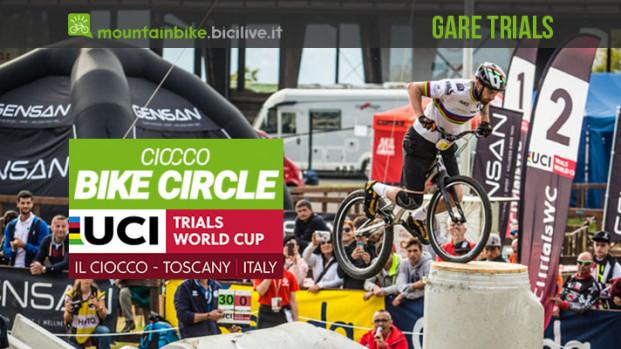La cronaca della Coppa del mondo di bike trial al Ciocco