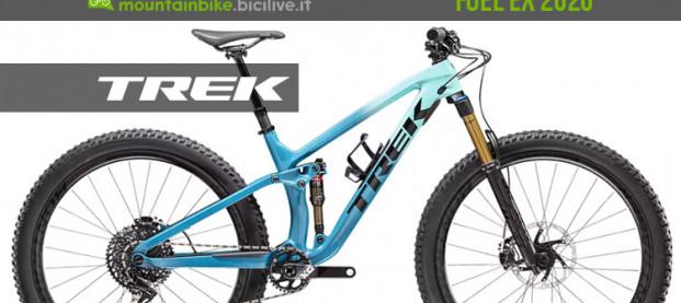 Trek Fuel EX 2020, una trail bike ancora più polivalente