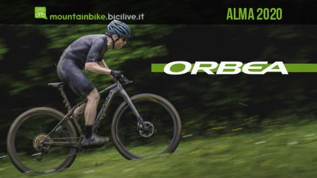Alma 2020: la nuova mtb hardtail da XC di Orbea