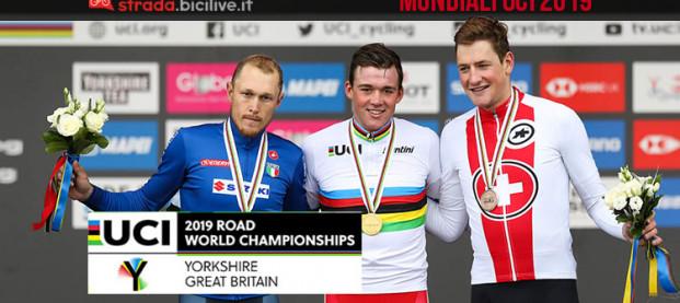 Campionati mondiali di ciclismo 2019: Italia terza nel medagliere