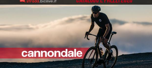 Le bici Cannondale da corsa e gravel del 2020: catalogo e listino prezzi