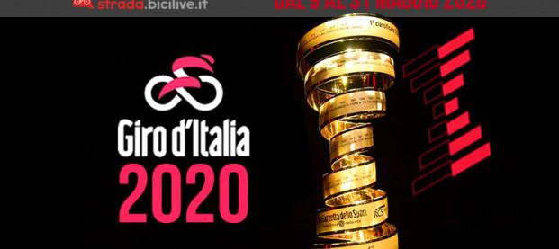 Giro d'Italia 2020: l'edizione 103 dal 9 al 31 maggio