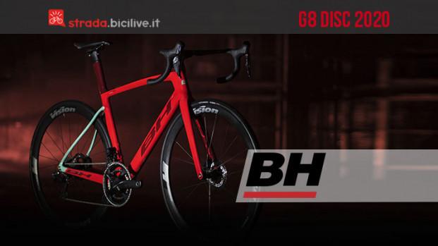 G8 Disc, la nuova bici aero di BH Bikes