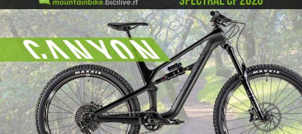 Canyon Spectral CF e Spectral AL 2020: due trail bike veloci e maneggevoli