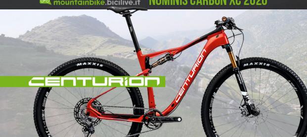 Centurion Numinis Carbon XC 2020: una biammortizzata nata per correre (e vincere)