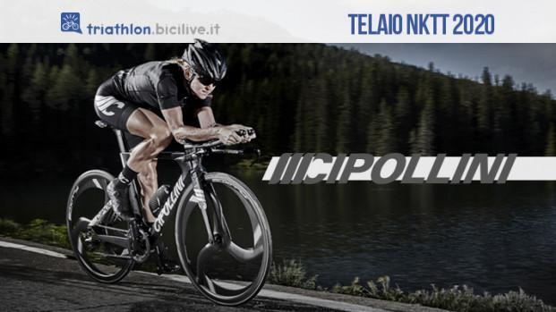 Cipollini NKTT 2020, il telaio bici rigido e potente per il triathlon