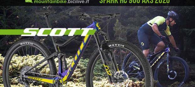 Scott Spark RC 900 Team Issue AXS 2020: dall'imballo al tracciato di gara