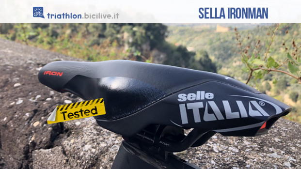 Il test della sella Iron Evo Kit Carbonio Superflow HD di Selle Italia