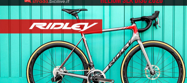 Ridley Helium SLX Disc 2020: leggera e rigida per il World Tour
