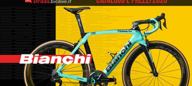 Le bici da strada, gravel e ciclocross 2020 di Bianchi: catalogo e listino prezzi