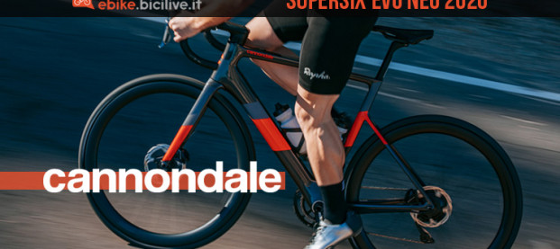 SuperSix EVO Neo: la nuova e-Road 2020 di Cannondale