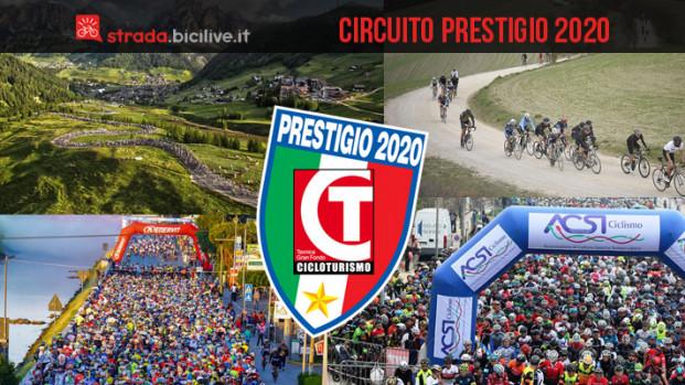 Il Circuito Prestigio 2020: le granfondo di Cicloturismo