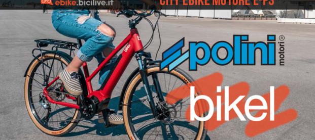 I motori Polini sulle nuove city ebike 2020 di Bikel