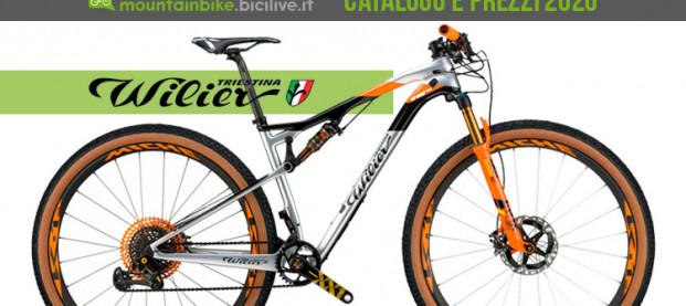 Le mountain bike Wilier Triestina 2020: catalogo e listino prezzi