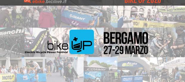 BikeUp 2020: il festival delle bici elettriche dal 27 al 29 marzo a Bergamo