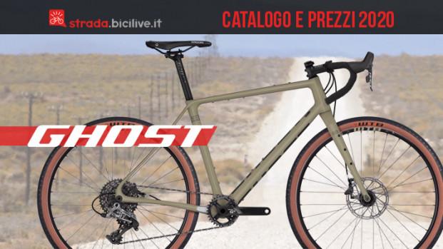 Le nuove bici Ghost da strada e gravel per il 2020: catalogo e listino prezzi