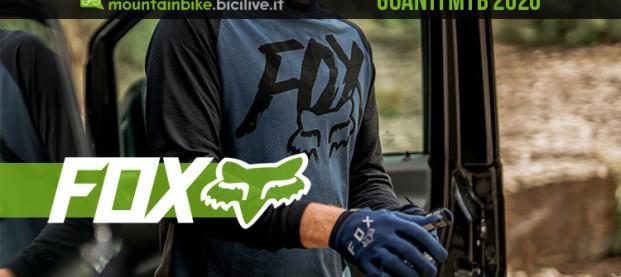 Guida ai nuovi guanti MTB 2020 di FOX Racing