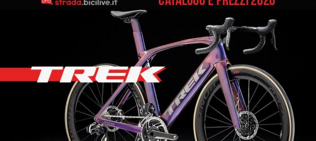 Trek 2020 bici da corsa, cross e gravel: catalogo e listino prezzi