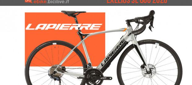 Lapierre eXelius SL 600: una e-Road per uomo e per donna