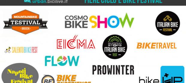 Tutte le fiere della bici e i bike festival italiani del 2020