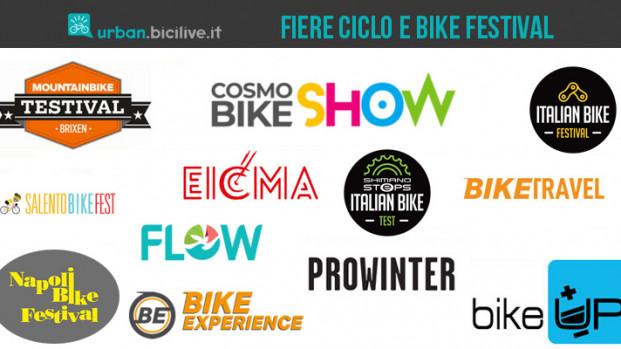Tutte le fiere della bici e i bike festival italiani del 2020 e 2021