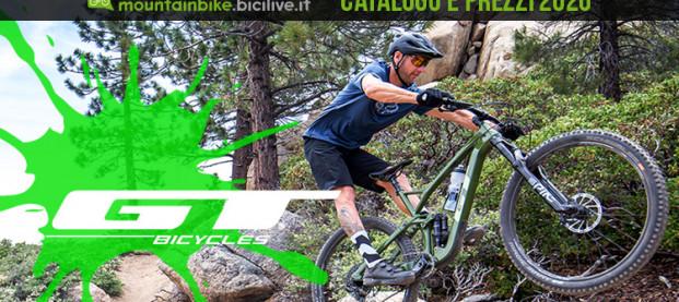 Tutte le mountain bike GT Bicycles 2020: catalogo e listino prezzi