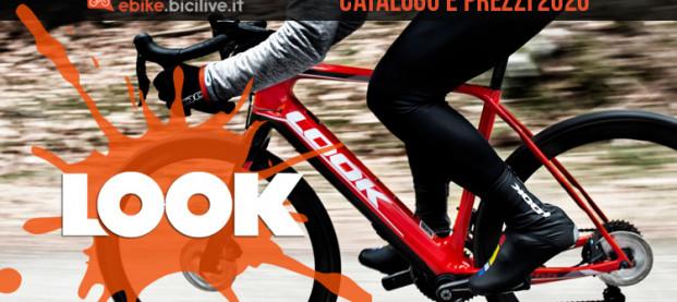 Le ebike gravel e strada 2020 di Look: catalogo e prezzi e-Road