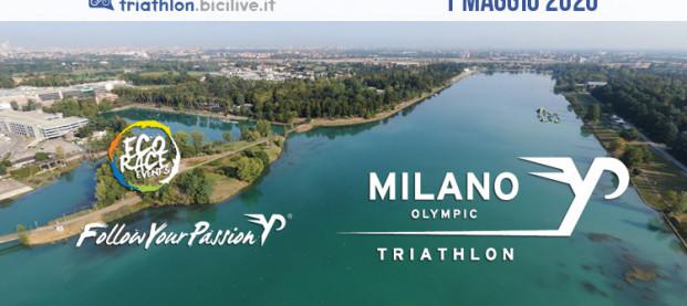 Primo maggio 2020 con il sesto Triathlon Olimpico di Milano