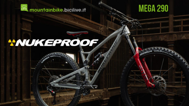 La nuova mountain bike Nukeproof Mega 290 2020