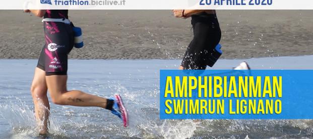 Amphibianman 2020: che giornata per lo Swimrun il 26 aprile a Lignano