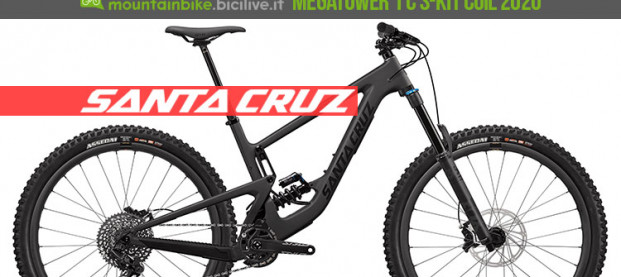 Santa Cruz Megatower 1 C S-Kit Coil 2020: la mtb da 29″ per l'enduro