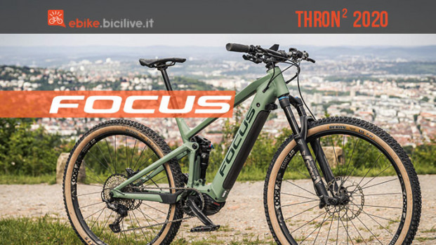 Focus Thron2 2020: più di una semplice e-mtb full da trail
