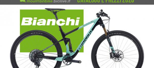 Le mountain bike Bianchi del 2020: catalogo e listino prezzi