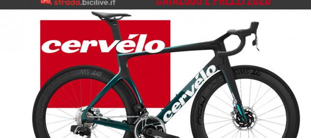 Le bici da strada e gravel 2020 di Cervélo: catalogo e listino prezzi