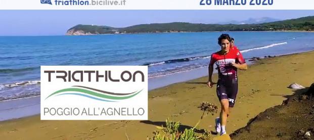 Triathlon Sprint Poggio all'Agnello, la gara sabato 28 marzo 2020
