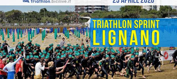 Il 25 aprile 2020 torna il Triathlon Sprint Città di Lignano