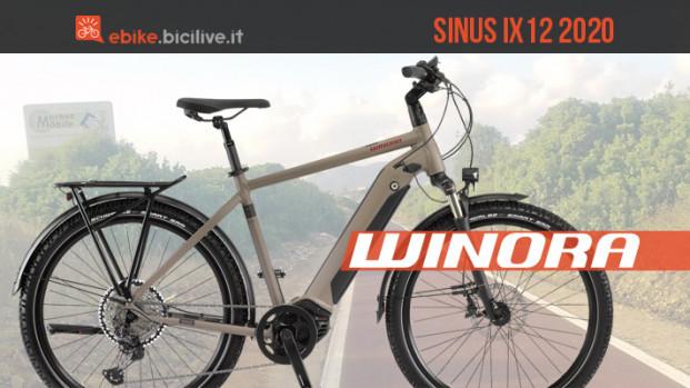 Winora Sinus iX12, la nuova ebike da trekking tuttofare con motore Bosch CX 4Gen