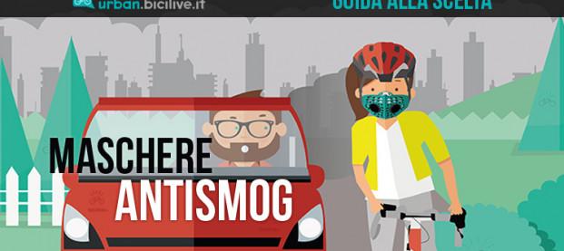 Guida alla scelta delle maschere antismog per ciclisti