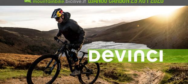 Devinci Django Carbon 29 X01 2020, la nuova mtb 29″ da trail con Split Pivot