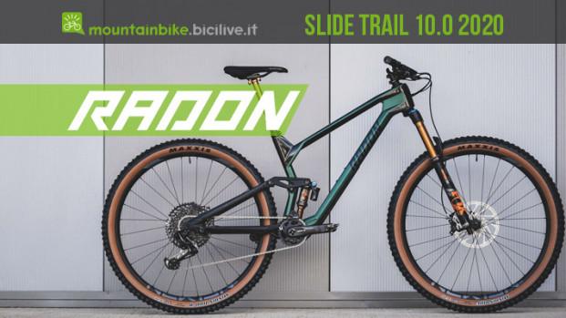 Radon Slide Trail 10.0 2020, la nuova 29″ da all mountain con prezzo imbattibile