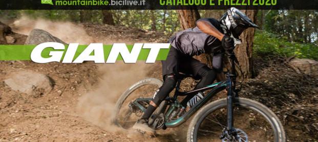 Le mountain bike Giant 2020: catalogo e listino prezzi