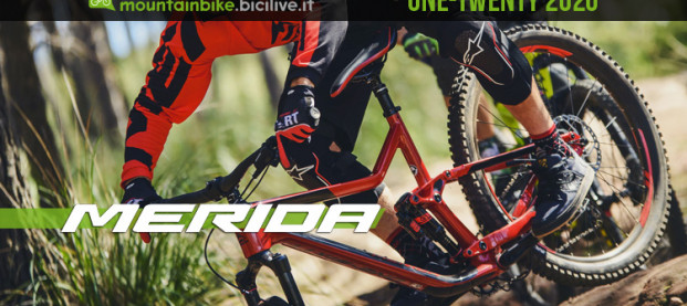 La nuova mtb full suspended Merida One-Twenty 2020