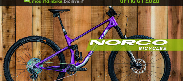 Norco Optic C1 2020: la trail bike che strizza l'occhio all'enduro