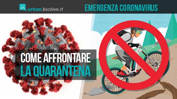 """La bici e il Coronavirus: restiamo a casa ma """"pedaliamo""""!"""