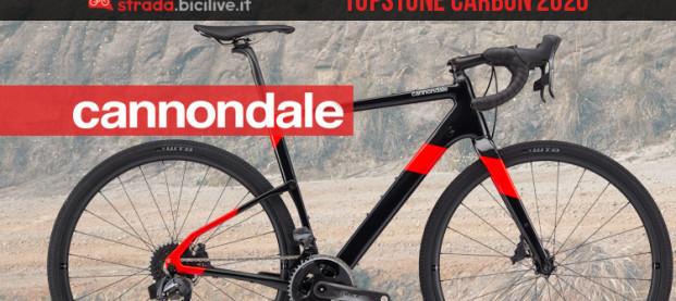Cannondale Topstone Carbon Force eTap AXS 2020: la bici per le sfide del gravel